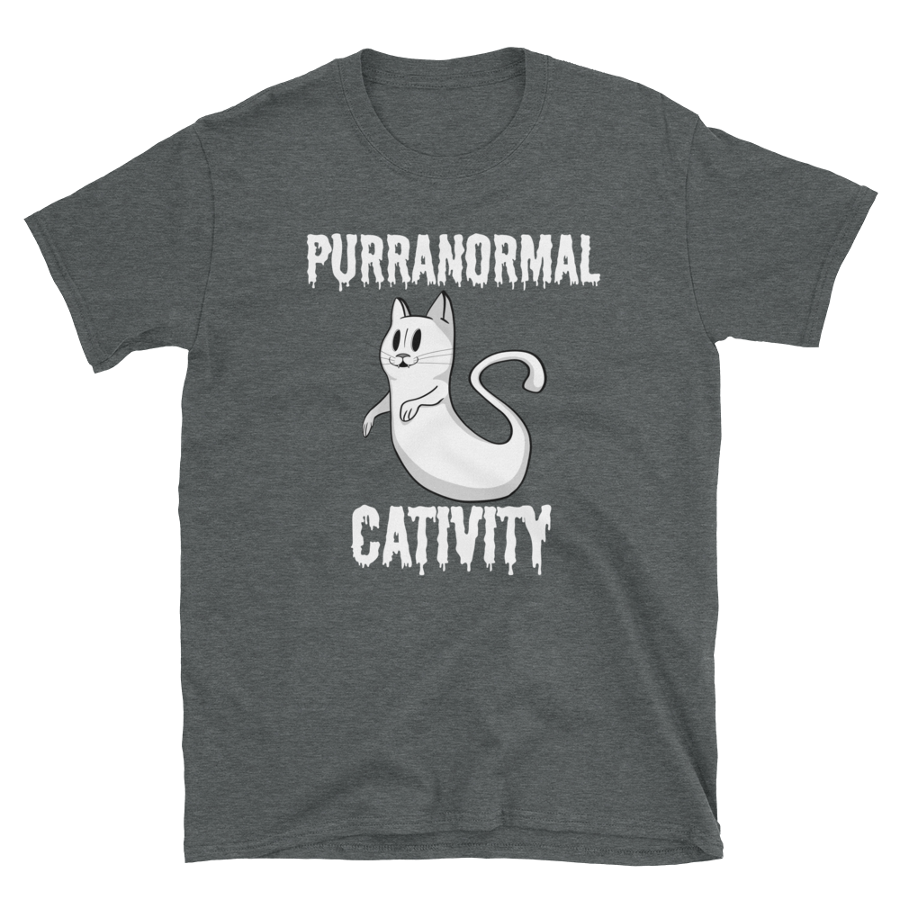 Purranormal Cativitiy - Short-Sleeve Unisex T-Shirt - punmug - more than just mugs