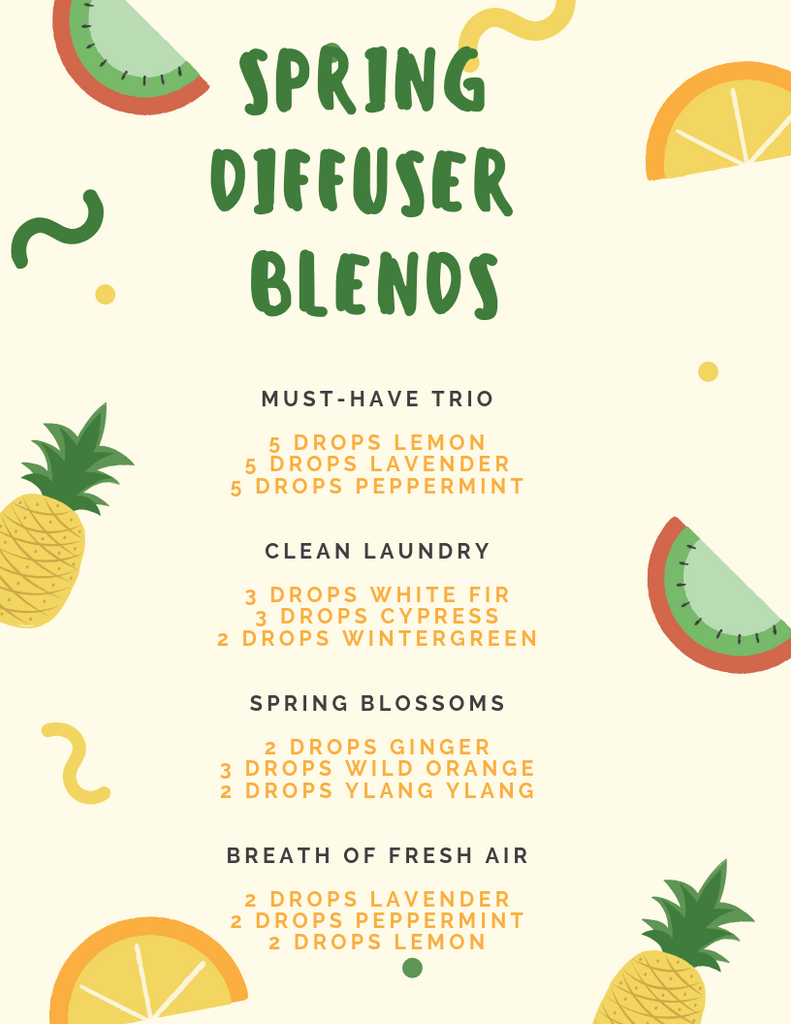 pengwing spring diffuser blends