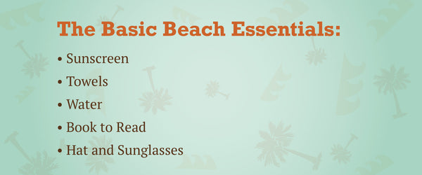 basic beach essentials thingamabobs