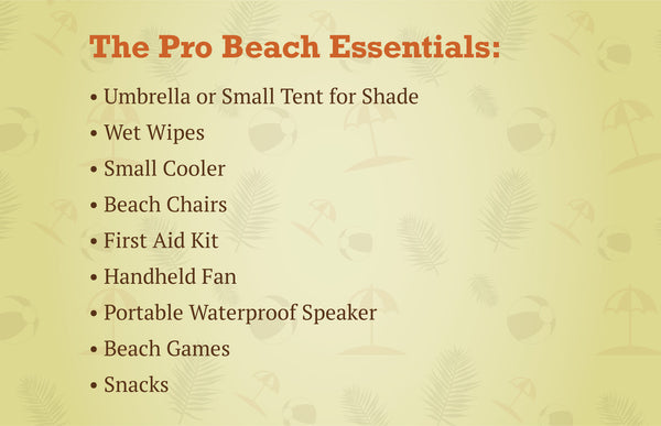 pro beach essentials thingamabobs