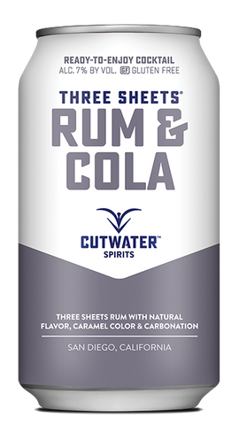 cutwater spirits run and cola