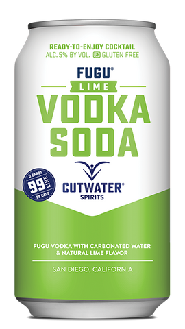 cutwater spirits vodka soda