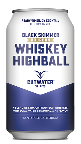 cutwater spirits whiskey highball
