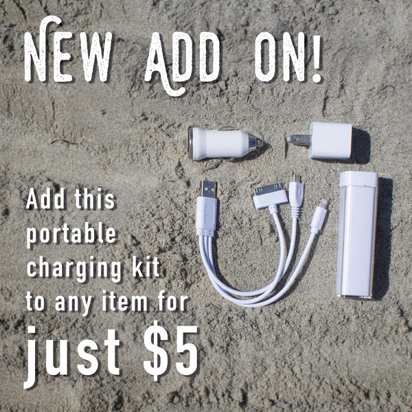 Portable Phone Charging Kit