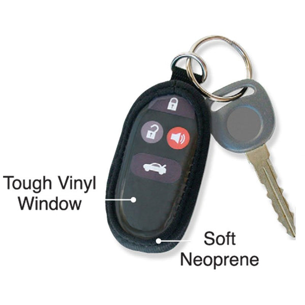 Car key fob remote skin fits most import car models