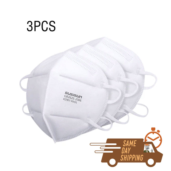 KN95 Protective Masks 3, 5, or 10 Packs- from $3/each