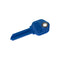 lucky line magnetic keys simple way to hide a spare key blue kwikset
