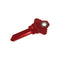lucky line magnetic keys simple way to hide a spare key red schlage