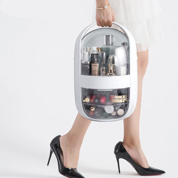 Portable Skincare and Makeup Storage