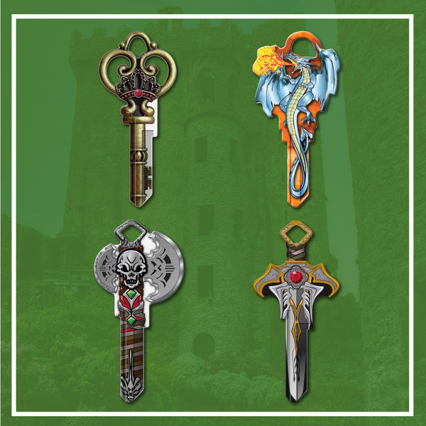 Key Shapes 4 Pack: Medieval