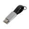 lightning cable and micro usc charging cable key chain