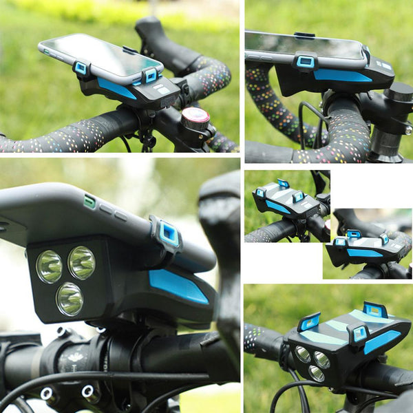 Bike Phone Mount and Light
