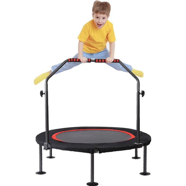 Kids Mini Trampoline with Handlebar