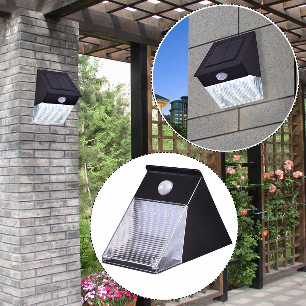 LED Solar Powered Motion Sensor Lights