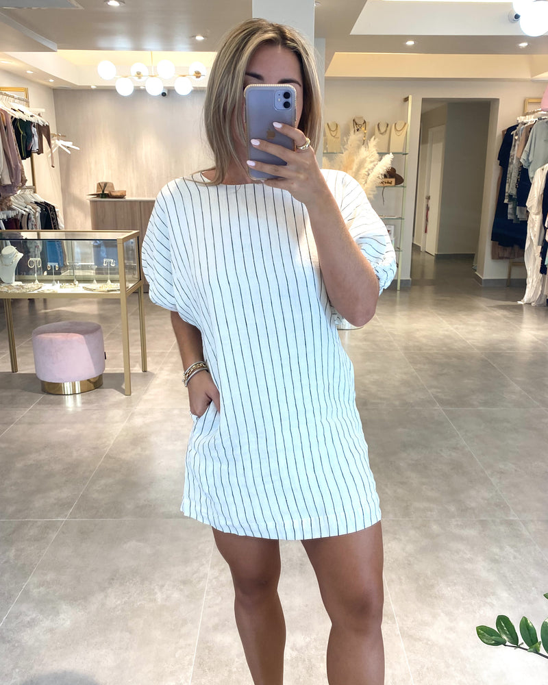 CHAMOMILE PUFF SLEEVE DRESS
