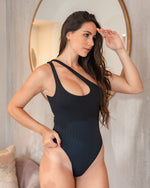 PHOEBE RIBBED ONE PIECE