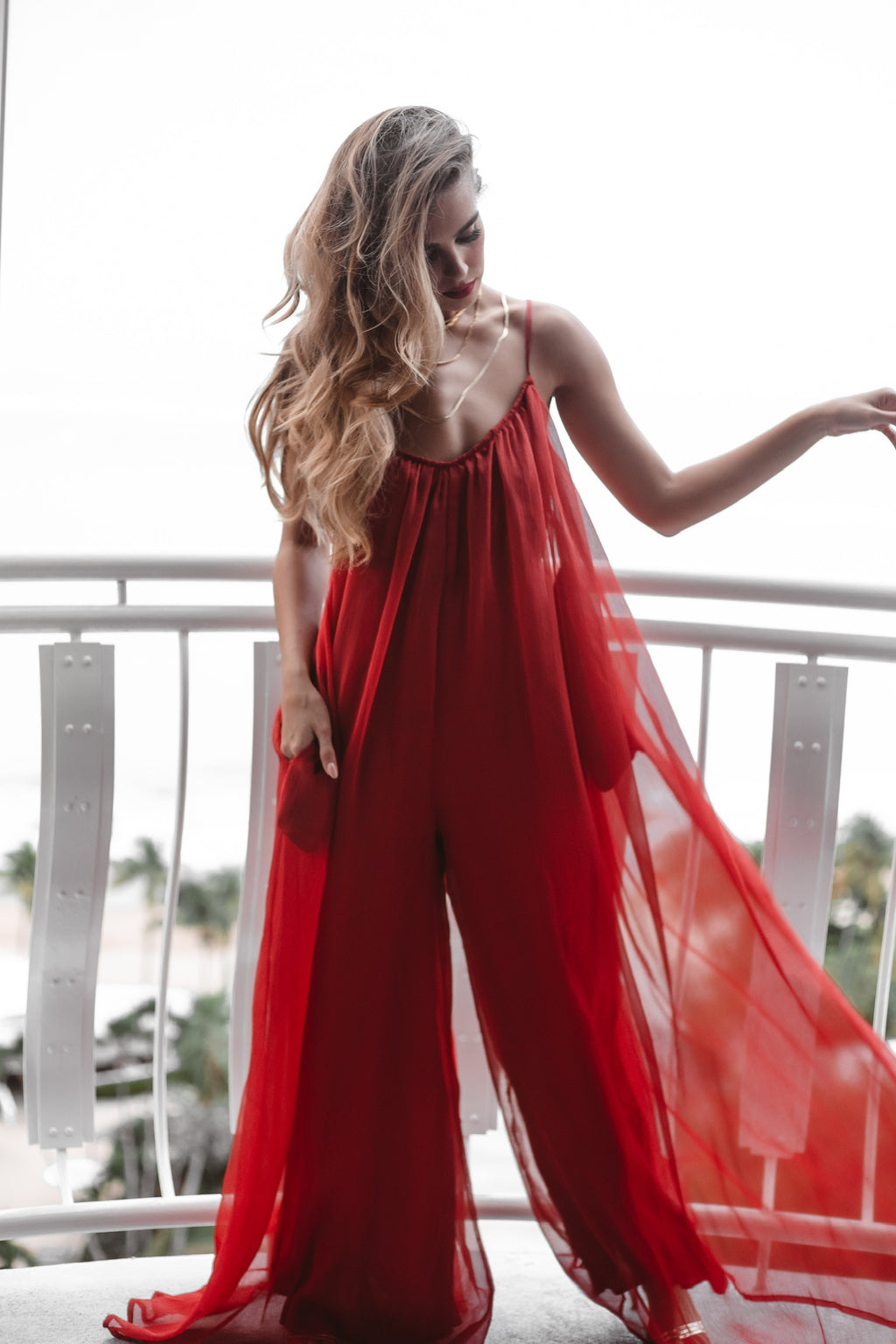 MISTLETOE JUMPSUIT