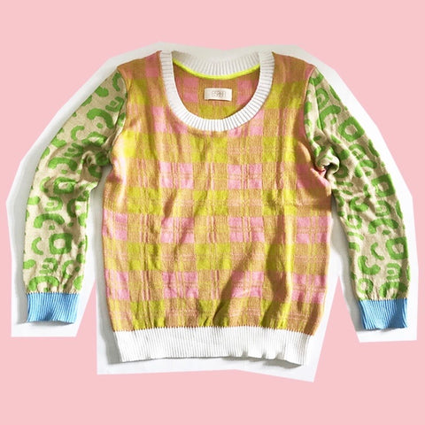 PatchworkNo1. Sweater