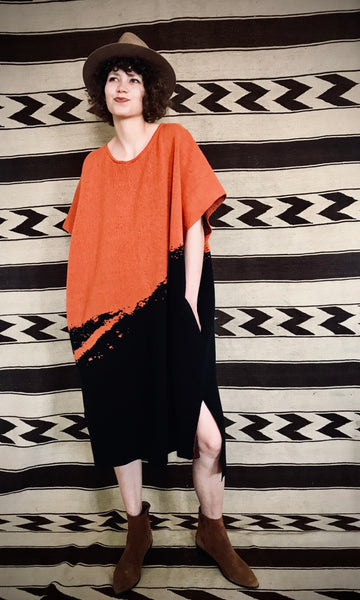 Lava Poncho Dress