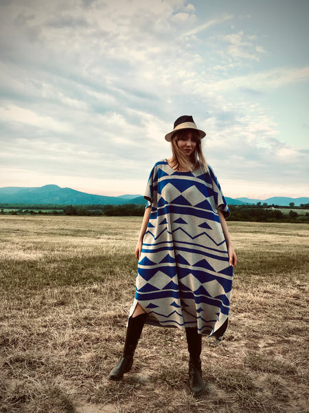 Mexican Poncho Dress