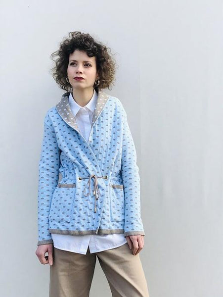 Polka Short Coat
