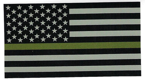 Thin Green Line Decal