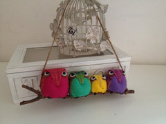 4 Owls decorations