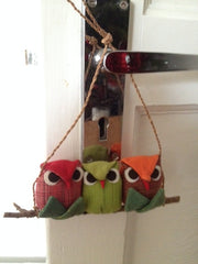 3 Owls decorations
