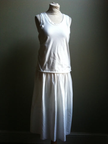 Cotton Spring/Summer Long Dress