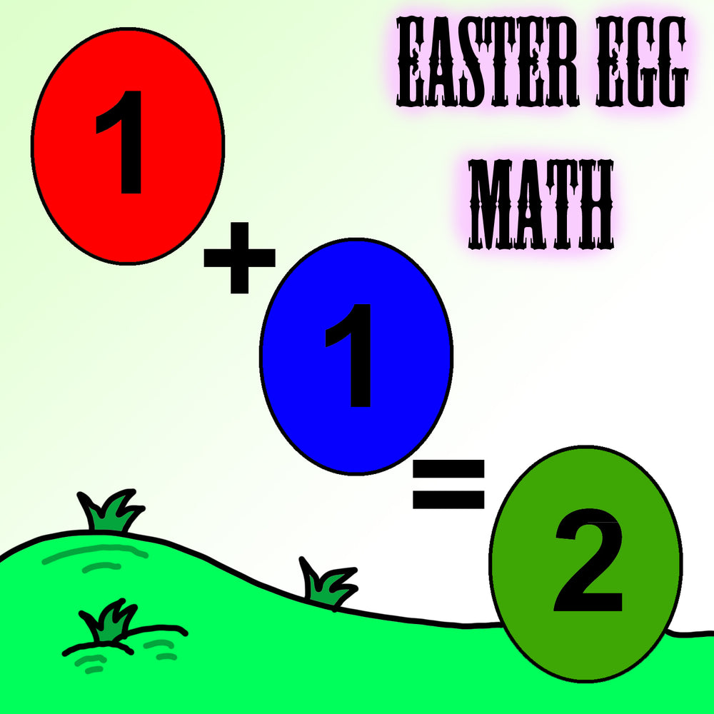 Easter Egg Addition Math Worksheets For Kindergarten by dogandmousecompany.com