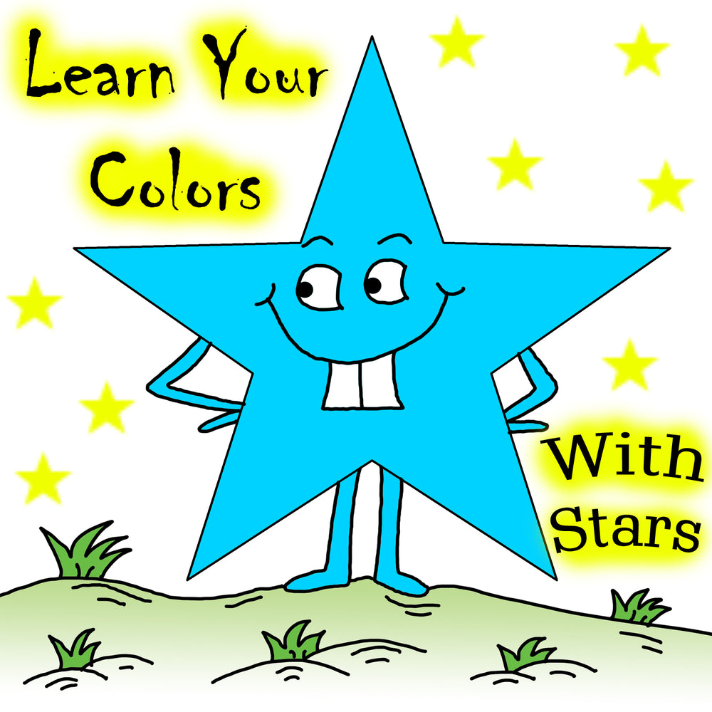 Learn Your Colors With Stars Preschool Worksheets by dogandmousecompany.com