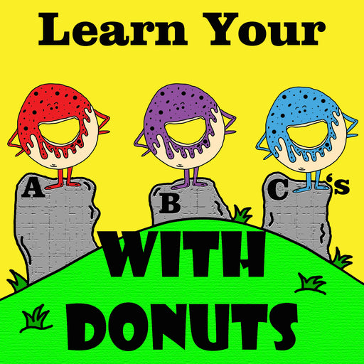 Learn Your ABCs With Donuts Preschool Worksheets by dogandmousecompany.com
