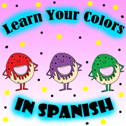 Learn Your Colors In Spanish With Donuts Preschool Worksheet by dogandmousecompany.com