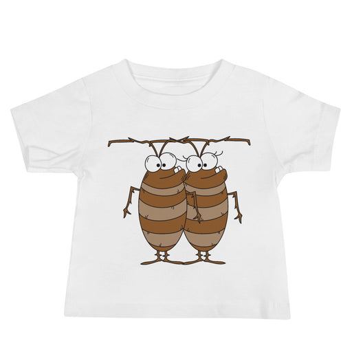 Cockroaches Baby Jersey Short Sleeve T Shirt | Sizes 6-24 Months