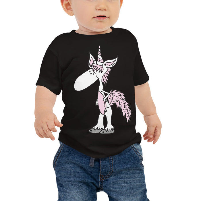 Unicorn Baby Jersey Short Sleeve T Shirt | Sizes 6-24 Months