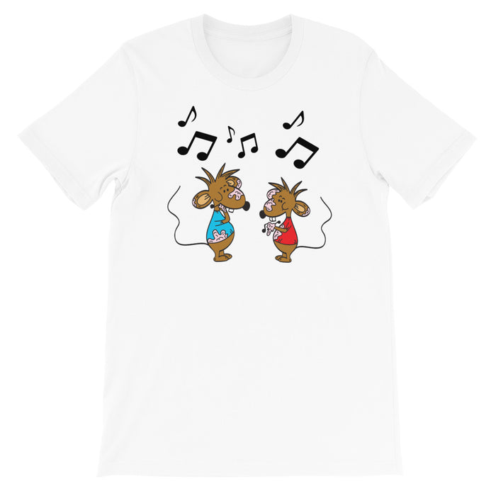 Cartoon T Shirts | Stincel And Ringlet T Shirts by DogAndMouseCompany.com | Custom Designed by Artist Jamie Rosier©
