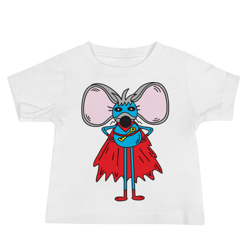 Link The Superhero Mouse Baby Jersey Short Sleeve T shirt | Sizes 6-24 Months