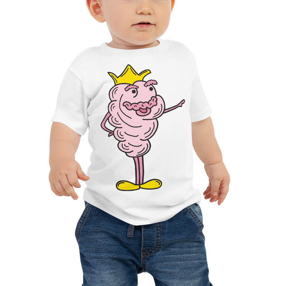 Cotton Candy King Baby Jersey Short Sleeve T Shirt | Sizes 6-24 Months