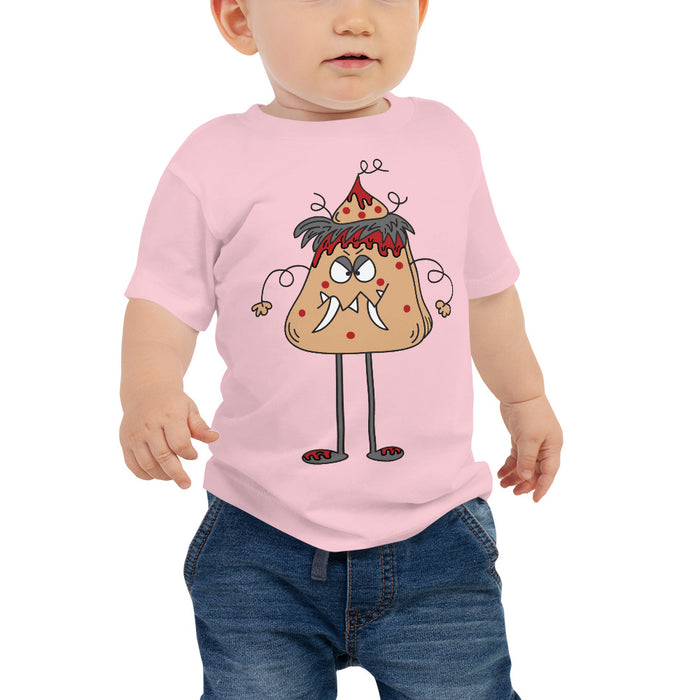 Lava Cake Man Baby Jersey Short Sleeve Cartoon Toddler Kids Baby T Shirt | Sizes 6-24 Months