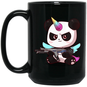 Pandacorn Lock and Load Mug