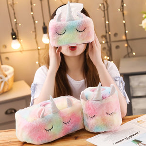 Rainbow Unicorn Tissue Case