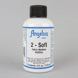 Angelus Leather Paint & Dyes - 2-Soft 4oz - Street Lab UK