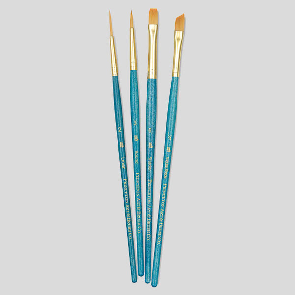 Princeton 4 Paint Brush Set (9173) - Street Lab UK