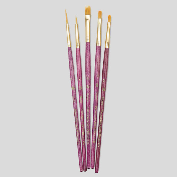 Princeton 5 Paint Brush Set (9184) - Street Lab UK
