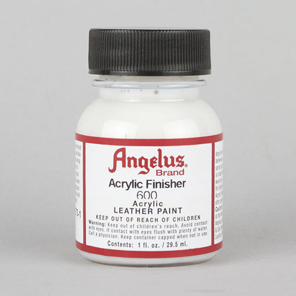 description angelus acrylic finisher is used on all smooth leathers it. Black Bedroom Furniture Sets. Home Design Ideas