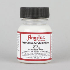 Angelus Leather Paint & Dyes - Acrylic High Gloss Finisher 1oz - Street Lab UK