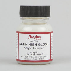 Angelus Leather Paint & Dyes - Satin High Gloss Finisher 1oz - Street Lab UK