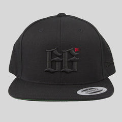 Bloodbath 66th Snapback Cap - Black & Black - Street Lab UK - 1