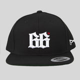 Bloodbath 66th Snapback Cap - Black & White - Street Lab UK - 1