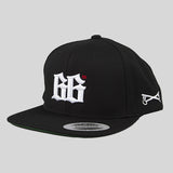 Bloodbath 66th Snapback Cap - Black & White - Street Lab UK - 2